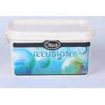 ILLUSION Aluminium - Гладкое декоративное покрытие с искристо-перламутровым отливом 1кг