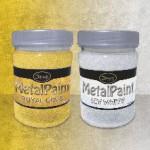 MetalPaint Aluminium - универсальная металлизированная водорастворимая краска 0,25л