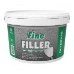 Fine Filler Eskaro - Мелкозернистая шпатлевка для стен и потолков 2,5л